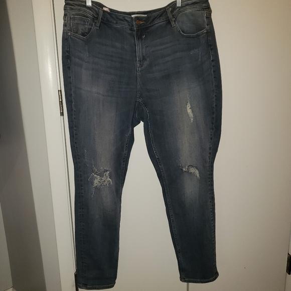 Vigoss 20 Jagger Skinny distressed jeans